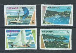 Grenada 1973 Yacht Set Of 4 MNH - Grenada (...-1974)