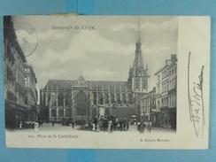 Souvenir De Liège Place De La Cathédrale - Liege