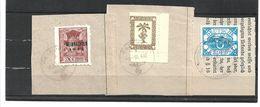 1510h: Fälschung 2. Weltkrieg, 3 Feld- Und Inselpostmarken O (wohl Fakes, Fälschungen, Ungeprüft) - Collections