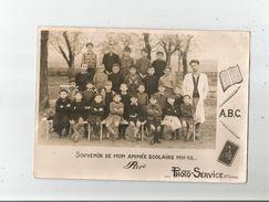 MONCLAR (LOT ET GARONNE) PHOTO DE CLASSE DE GARCONS 1951 1952 (PHOTO PHOTO SERVICE STE LIVRADE) - Anonymous Persons