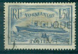 FRANCE N° 300 NORMANDIE Bleu Clair  Oblitéré  Tb Cote : 20 € - Gebruikt