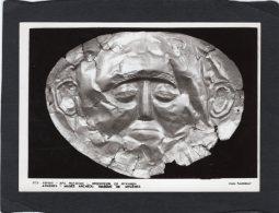74577    Grecia,  Athenes,   Musee Archeol.,  Masque De Mycenes, - Greece
