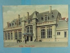 Liège Gare Du Plais (colorisée) - Liege