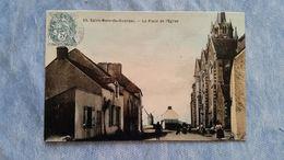 SAINT MALO DE GUERSAC - LA PLACE DE L'ÉGLISE - 44 - France