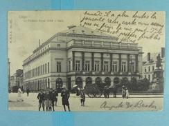 Liège Le Théâtre Royal (1808 à 1822) - Liege