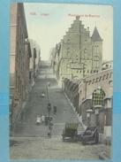 Liège Montagne De Bueren (colorisée) - Liege