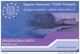 Bulgaria Transport Cards, For Bus (1pcs) - Bulgaria