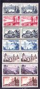 N° 1036 à 1042 Série Touristique: Série En Paire De 2 Timbres Neuf Impeccable Voir Scan - Ongebruikt
