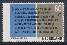 """Nederland Netherlands Pays Bas 2001 Mi 1866 ** Citaat """"Het Beloofde Land: Een Reis Door De Karoo"""", Adriaan Van Dis - Schrijvers"""