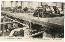 Mines De CARMAUX  Usine Electrique  Salle Desmachines - Carmaux