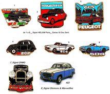 Automobile_PEUGEOT_Collection HELIUM_1 Pin's Aux Choix _ - Peugeot