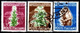 Italia-F01772 - 1950 - Sassone N. 629/631 (o) Used - Senza Difetti Occulti. - 6. 1946-.. Repubblica