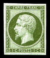 * N°11, 1c Olive. TB   Qualité: *   Cote: 260 Euros - 1853-1860 Napoleon III