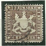 Württemberg, Nr. 16yb, Gestempelt - Wurtemberg