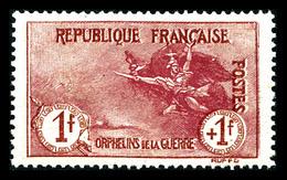 ** N°154, Orphelins, 1F +1F Carmin, Très Bon Centrage, SUP (signé Calves/certificat)    Qualité: **   Cote: 2125 Euros - 1900-02 Mouchon