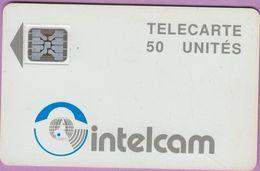 Télécarte Cameroun °° 50 Unités Intelcam - Sc5 - Pe 15744  *  TBE - Cameroun