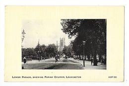 Lower Parade, Shewing Parish Church - LEAMINGTON -  - L 1 - Angleterre
