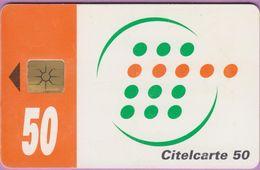 Télécarte Côte Ivoire °° Citelcarte 50 - 8626 -   *  TBE - Ivory Coast