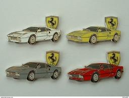 LOT DE 4 Pin's FERRARI 288 GTO - TIRAGE 25 EXEMPLAIRES NUMEROTES - 40 X 25 Mm - Ferrari