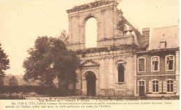 Montigny-le-tilleul - CPA - Ruine De L'Abbaye D'Aulne - L'entrée - Montigny-le-Tilleul