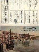 14 - TROUVILLE - Dépliant Touristique - Plié En 4 - Dépliants Touristiques