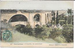 CPA - CARPENTRAS - L Aqueduc, Vue Panoramique - Carpentras