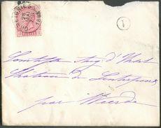 N°38 - 10 Centimes Rose Obl. Sc ORMEIGNIES Sur Enveloppe Du 28 Mai 1885 + Boîte Rurale V Vers La COmtesse D'Ursel Au CHa - 1883 Léopold II