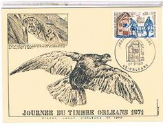 45  JOURNEE  DU  TIMBRE   ORLEANS      1971  CPM  DESSIN   TBE  1P733 - Orleans