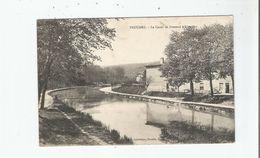 FROUARD LE CANAL DE FROUARD A LIVERDUN 1916 - Frouard