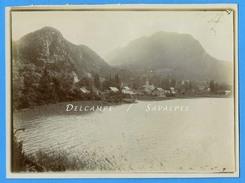 Haute-Savoie Lac Annecy - DUINGT Vers 1900 - Photo Originale - Voir Scans - Places