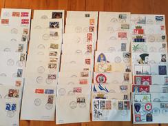 """Lot De 230 Enveloppes """"premier Jour """" Diverses Années Et Themes 1950 à 1980 - FDC"""