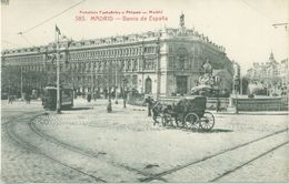 Madrid; Banco De España (Tramway) - Not Circulated. - Madrid
