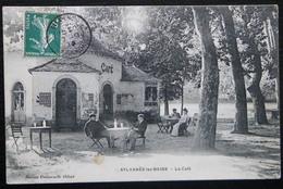 CPA SYLVANES-LES-BAINS LE CAFE - Autres Communes