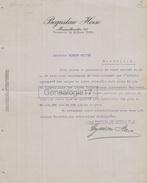96 1507 Z POLOGNE POLAND VARSOVIE 1927 BOGUSLAW HERSE Marszaltkowska à OLLIER - Invoices & Commercial Documents
