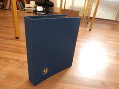 Yvert Et Tellier - Reliure K19 Bleue - Bon état - Albums & Reliures