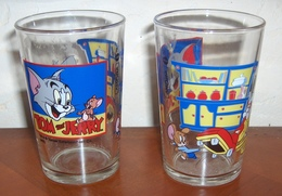 Deux Verres à Moutarde TOM ET JERRY - Glasses
