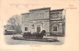 CPA Allemagne Gruss Aus Bayreuth Villa Wahnfried (précurseur) PO 560 - Bayreuth