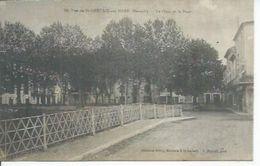 10 - VUE DE St-GERVAIS-SUR-MARE - LE QUAI ET LE PONT - France