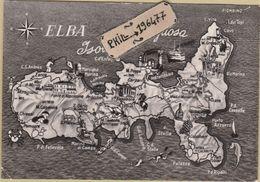 Elba - Cpm / Carte. - Italie