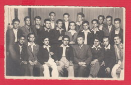 220895 / Real Photo KIRIL SEMERDJIEV - ASENOVGRAD - SCHOOL BOY THEACHER , Bulgaria Bulgarie Bulgarien - Persone Anonimi