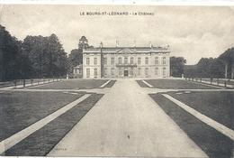LE BOURG-St-LEONARD . LE CHATEAU . CARTE ECRITE AU VERSO - France