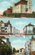 KREUZBURG OS - Carte Multi-vues. - Pologne