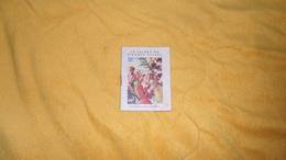 MINI AGENDA LIVRET. / CATALOGUE 1953 - 1954 BIBLIOTHEQUE ROUGE & OR. - Calendars