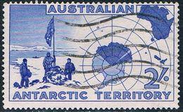 Territoire Antarctique Australien - Exploration Antarctique 1 (année 1957) Oblit. - Territoire Antarctique Australien (AAT)