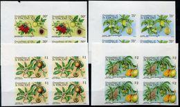 GRENADINES OF ST. VINCENT N°420/23 ** EN BLOC DE 4 NON DENTELE - St.Vincent & Grenadines