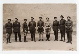 CPA Photo Militaria Militaires Soldats 159ème Régiment Chasseurs Alpins 1930 Officier - Regimente