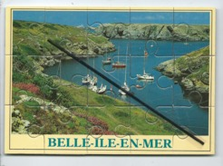Puzzle  -   Belle Ile En Mer  - Belle Isle En Mer  -  (le Verso Est Scotché )- - Belle Ile En Mer