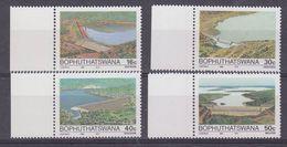 Bophutatswana 1988 Dams 4v ** Mnh (37164) - Bophuthatswana