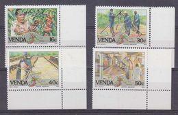 Venda 1988 Coffee Industry 4v  (corners) ** Mnh (37164B) - Venda