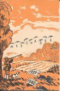 Carnet De Chasse Darne 1939-1940 état Neuf Vierge D'écriture 28 Pages Publicité Pour Armes Darne. - Cataloghi